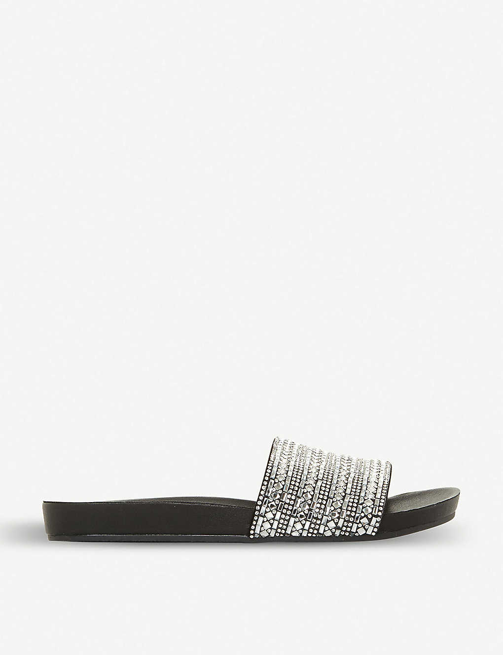 6f0bf39c88b STEVE MADDEN - Fancy rhinestone-embellished flat sandal | Selfridges.com