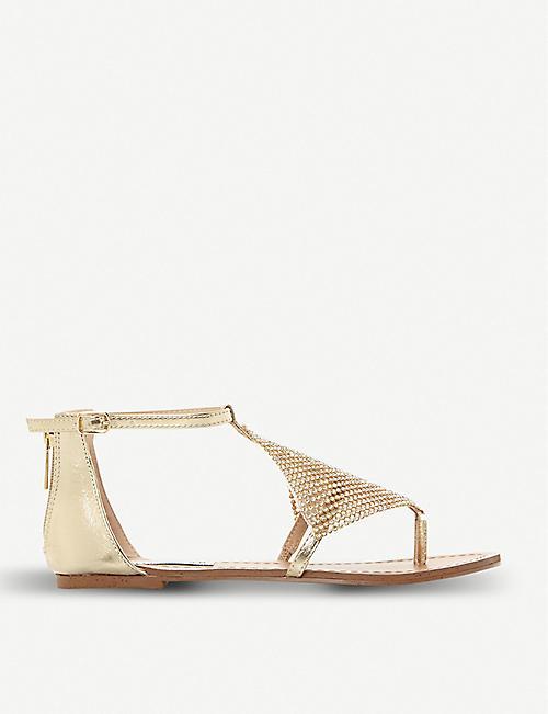 ec55e9b6114 STEVE MADDEN Cord diamante Grecian sandals