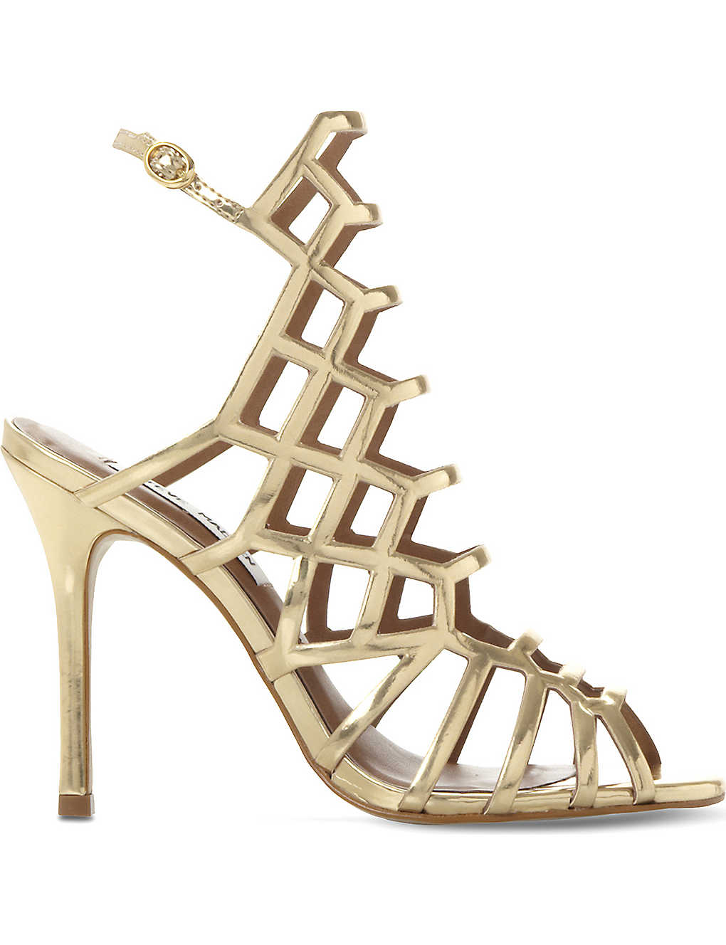 3e228b46f85 STEVE MADDEN - Slithur leather heeled sandals | Selfridges.com