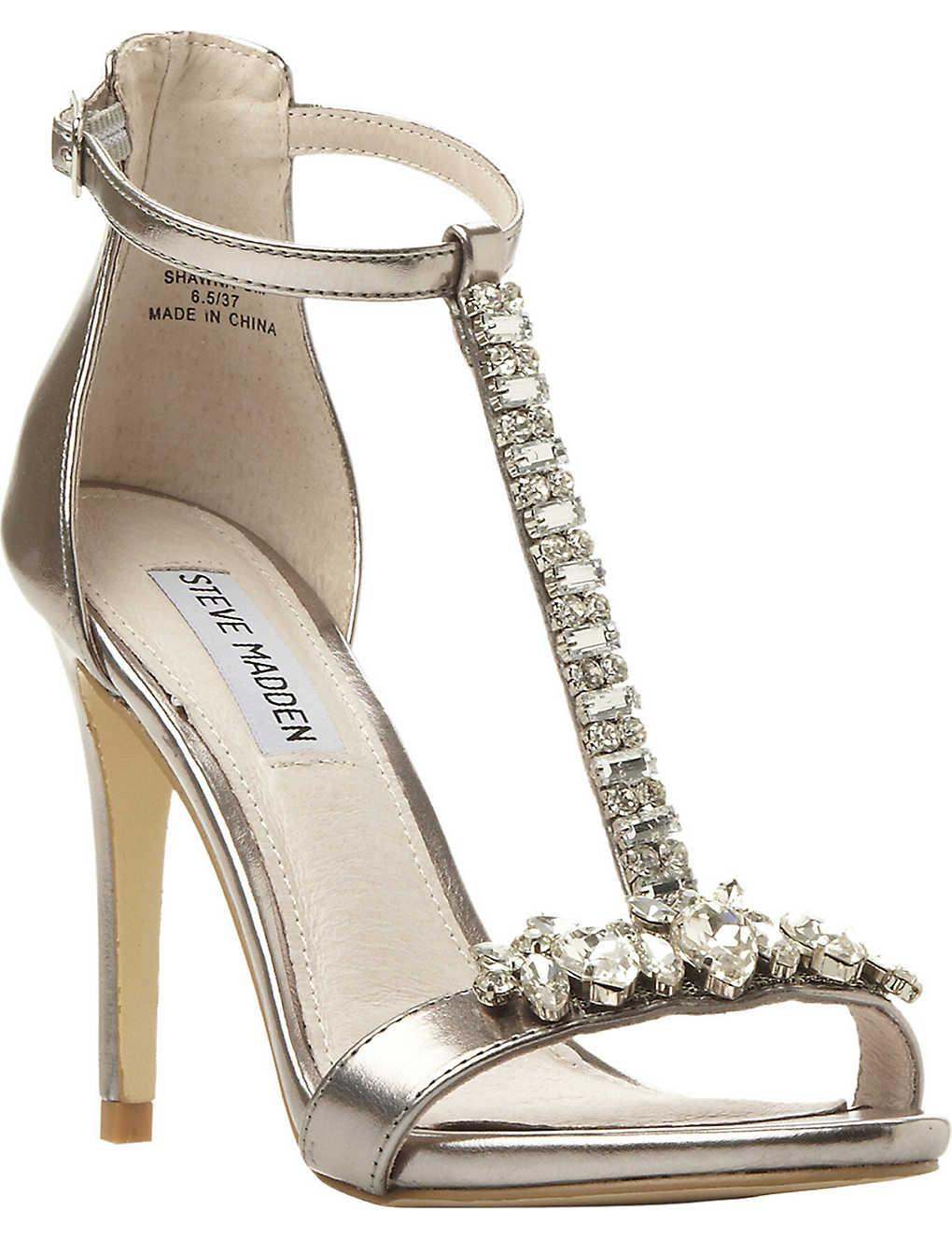 dbc3e9d0296 STEVE MADDEN - Shawna embellished t-bar sandals