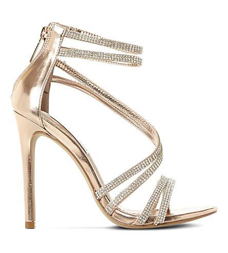 8aefc4bb06e STEVE MADDEN - Sweetest embellished heeled sandals | Selfridges.com