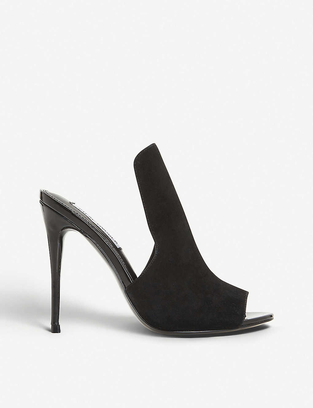 7381102ab1 STEVE MADDEN - Sinful high-vamp suede heeled mules | Selfridges.com