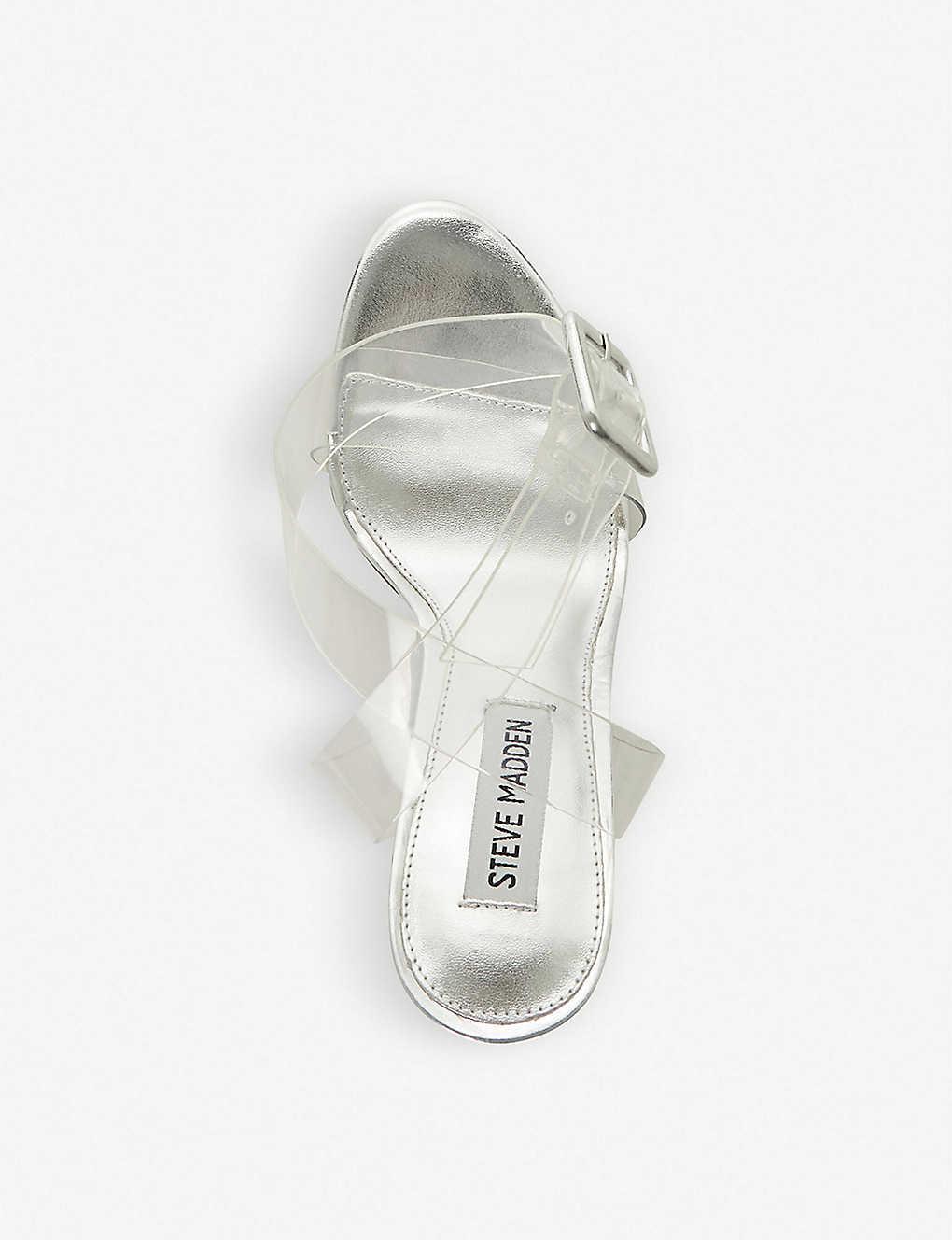 951a2ed8fe7 STEVE MADDEN - Seeme two-part pvc sandals | Selfridges.com