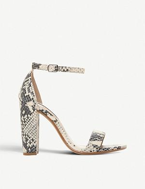 ff22c6c9d9ca STEVE MADDEN - Gonzo satin platform sandals