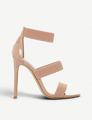 1544d250975 STEVE MADDEN - Irenee suede heeled sandals   Selfridges.com