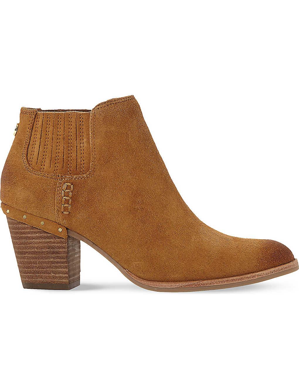 683c51d0bf1 STEVE MADDEN - Tinker suede ankle boots | Selfridges.com