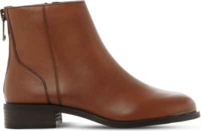 STEVE MADDEN Rileey leather Chelsea boots