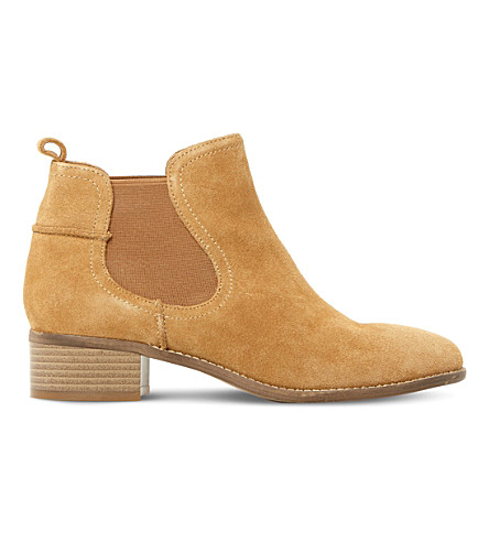 c75c019f066 Steve Madden Ladies Taupe Timeless Dicey Sm Suede Chelsea Boots In Taupe- Suede
