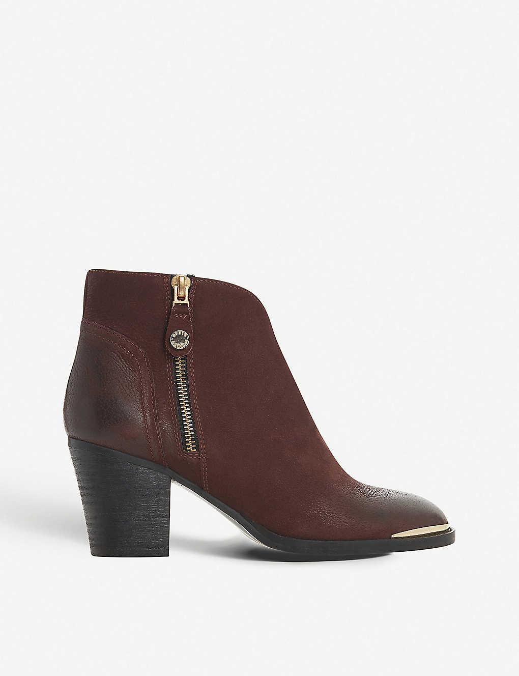 24e74c3bac17b STEVE MADDEN - Francy leather ankle boots   Selfridges.com