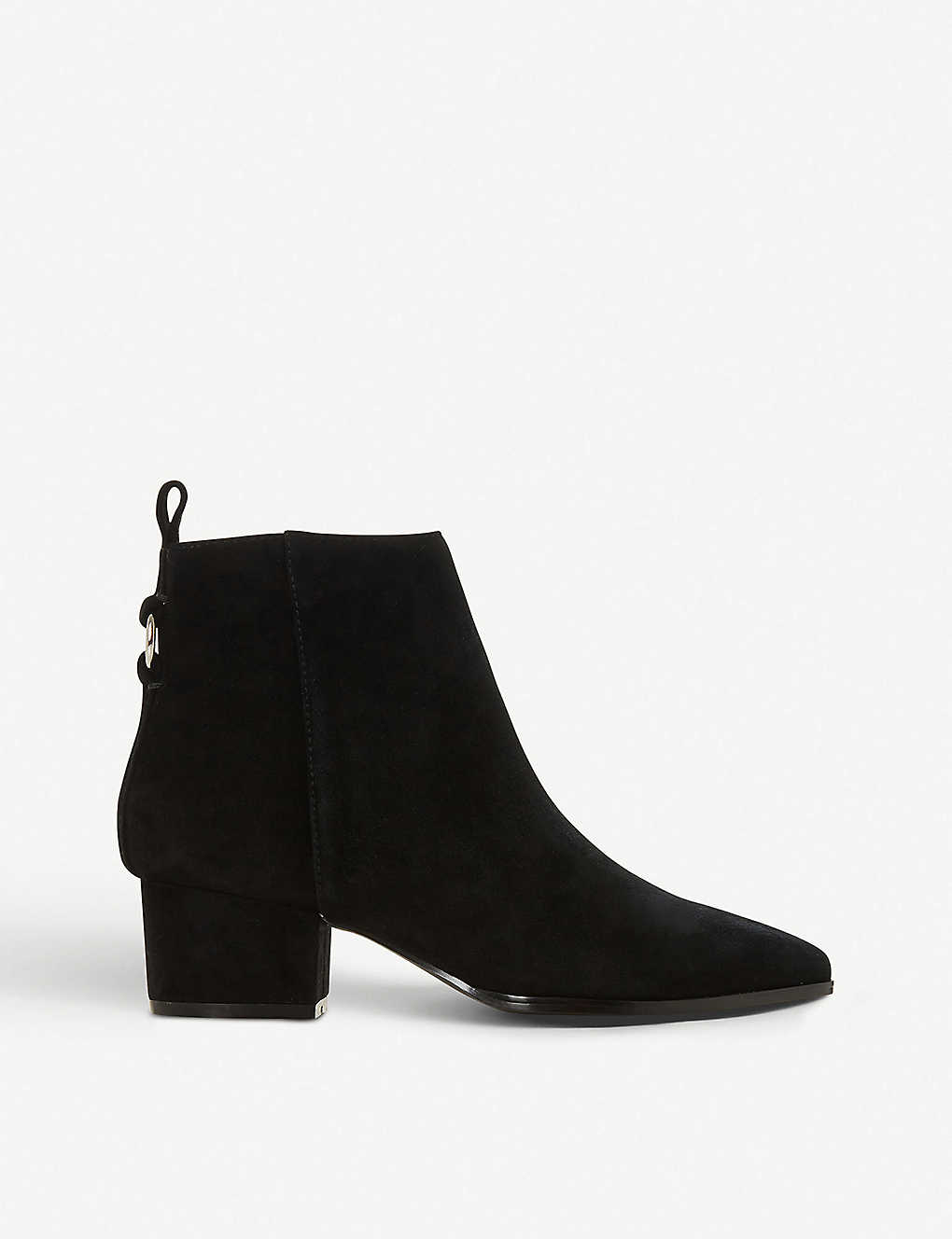 0bcfddfaddb STEVE MADDEN - Clover ring-detail suede ankle boots | Selfridges.com