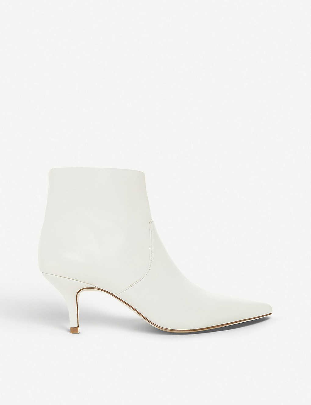 81b62fd7042 STEVE MADDEN - Rome leather heeled ankle boots | Selfridges.com