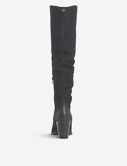 STEVE MADDEN Rova slouchy suede boots