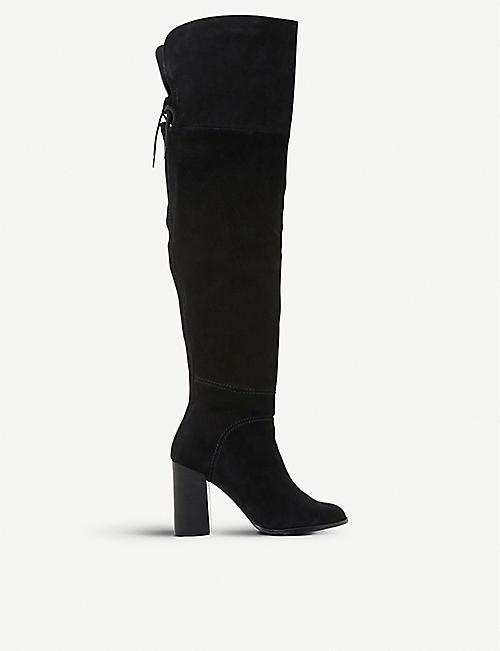 3d19407f556 STEVE MADDEN - Novela suede over-the-knee boots