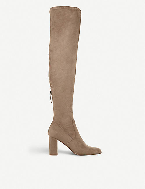 ba4d4ac76d4 STEVE MADDEN Anton ruched over-the-knee boots