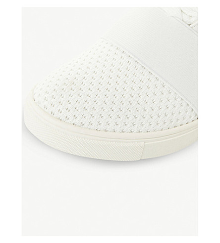 4a64925e452 Lexi Flyknit High-Top Wedge Sneakers, White