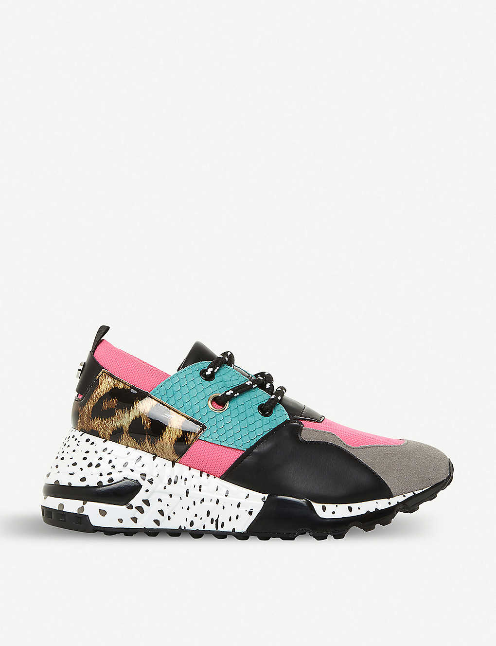 750bc6d41fa STEVE MADDEN - Cliff multi-coloured chunky-sole trainers ...