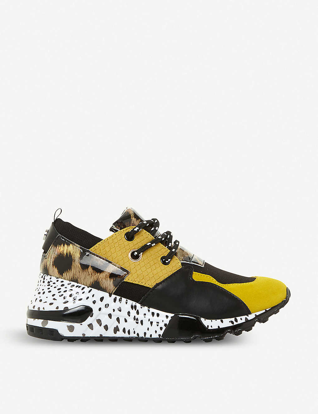 45f544fce48 Cliff leather trainers - Yellowsynthetic ...