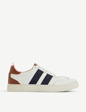 BERTIE Ernestt leather trainers