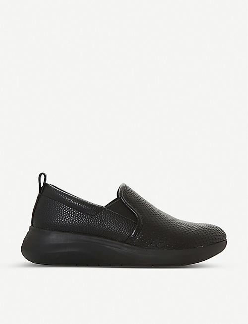 DUNE Elevate slip on elastic trainers