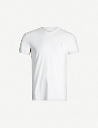 ALLSAINTS: Tonic V-neck cotton-jersey T-shirt