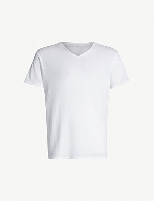 ALLSAINTS Optic V-neck cotton-jersey T-shirt