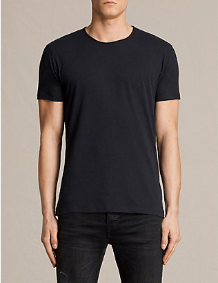 ALLSAINTS: Figure crewneck cotton-jersey T-shirt