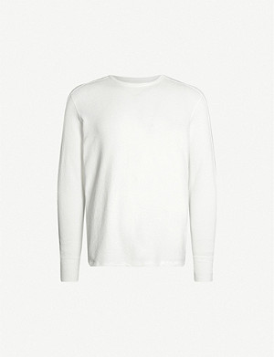 ALLSAINTS Gavin crewneck cotton-jersey top