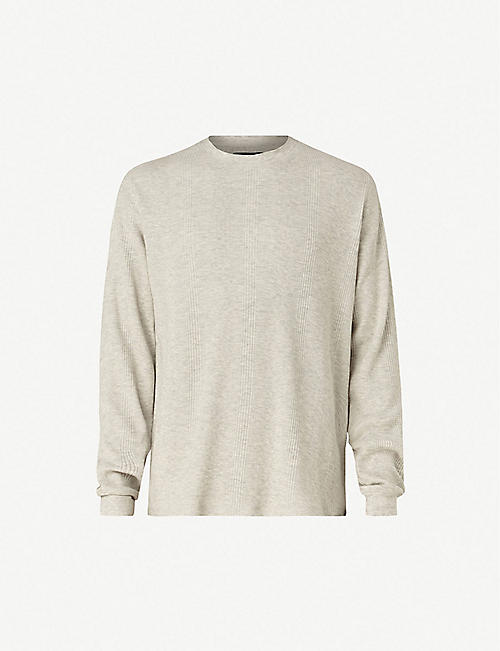 6589175e42473 ALLSAINTS - Jumpers - Knitwear - Clothing - Mens - Selfridges