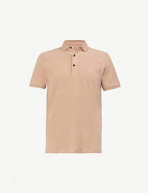 ALLSAINTS Cooper cotton-jersey polo shirt
