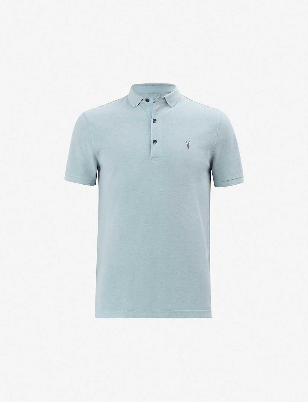 1b6a3d482b Reform cotton-piqué polo shirt