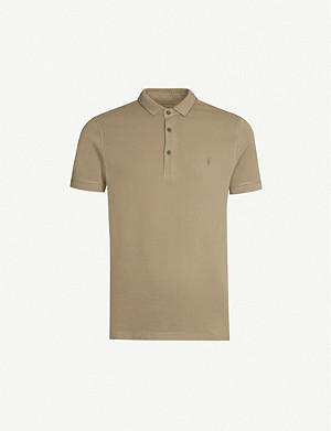 ALLSAINTS Reform cotton-piqué polo shirt