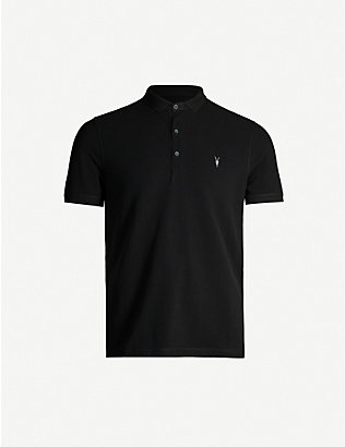 ALLSAINTS: Reform SS cotton-piqué polo shirt