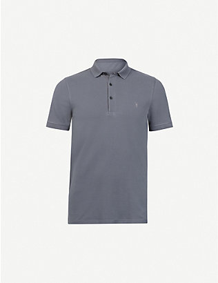 ALLSAINTS: Reform SS cotton-piqu? polo shirt