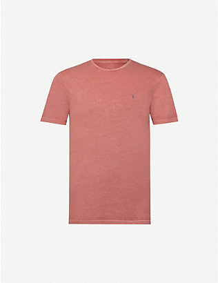 ALLSAINTS: Ossage slim-fit cotton-jersey T-shirt