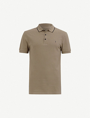 ALLSAINTS Houston cotton-jersey polo shirt