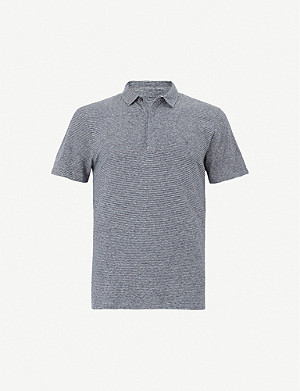 ALLSAINTS Lupa cotton-jersey polo shirt