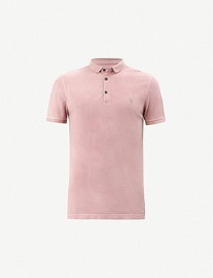 ALLSAINTS Daste cotton polo shirt