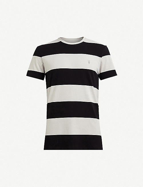 b2fa2f3121195 ALLSAINTS XXX slim-fit crewneck cotton T-shirt