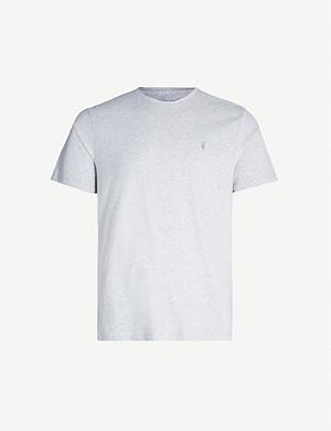 2e831e768 ALLSAINTS - Brace crewneck cotton-jersey T-shirt | Selfridges.com