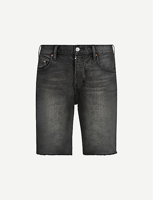 ALLSAINTS: Switch slim-fit denim shorts