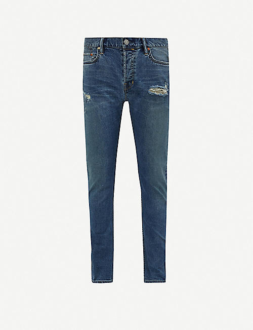 ALLSAINTS Rex ripped tapered jeans