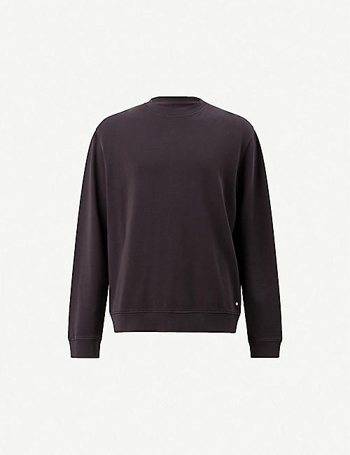 7cb9c103 ALLSAINTS Avio relaxed-fit cotton-jersey sweatshirt