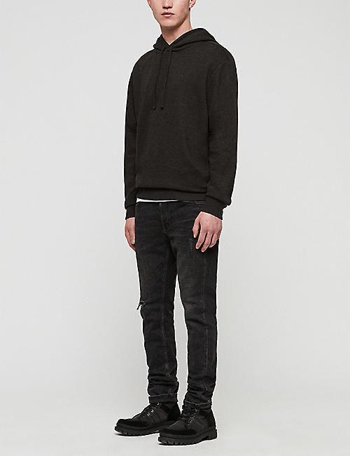 ALLSAINTS Gaiety cotton-blend jersey hoody