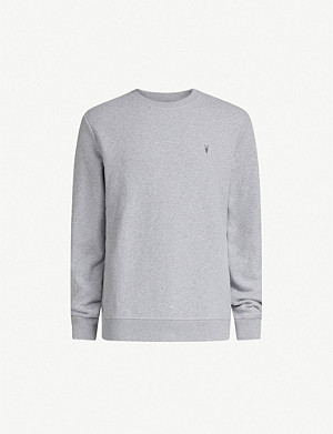 ALLSAINTS Raven cotton-fleece sweatshirt
