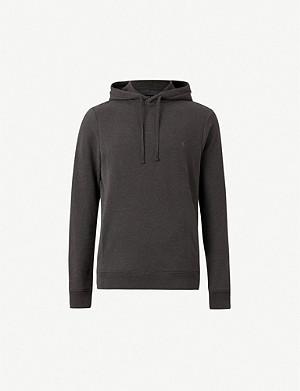 f325011c ALLSAINTS - Raven cotton-fleece hoody | Selfridges.com