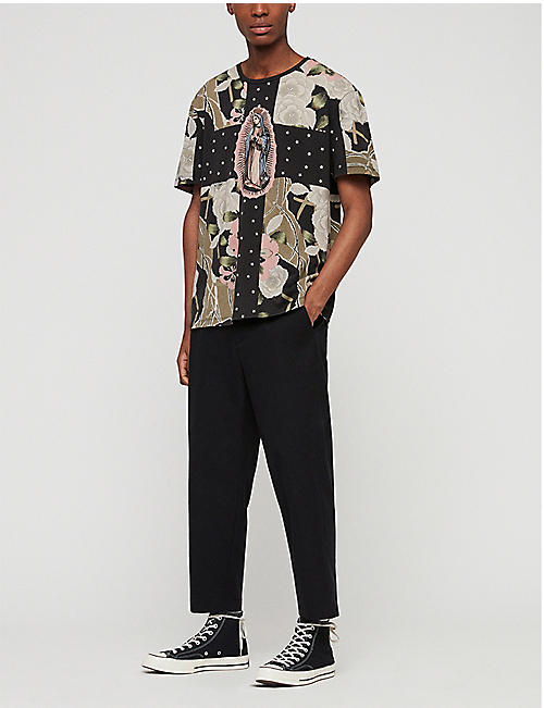 d4693de0 ALLSAINTS - Tops & t-shirts - Clothing - Mens - Selfridges   Shop Online