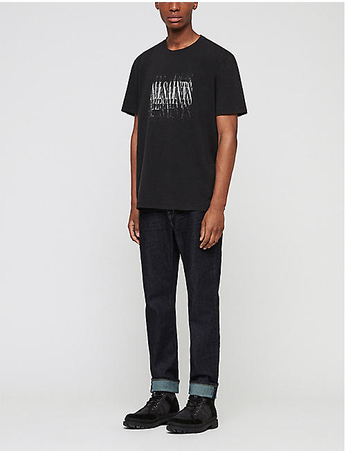 ALLSAINTS Imprint cotton-jersey T-shirt