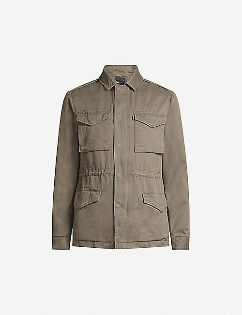 ALLSAINTS Cote cotton-twill field jacket