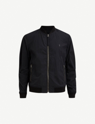 ALLSAINTS Fleet shell bomber jacket