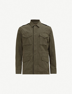 ALLSAINTS Logan patch-pocket cotton utility jacket